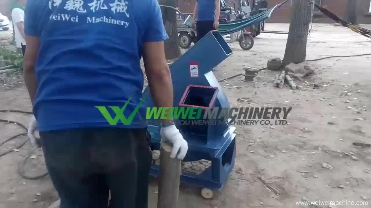Weiwei forestry machine biomass crusher wood chipper