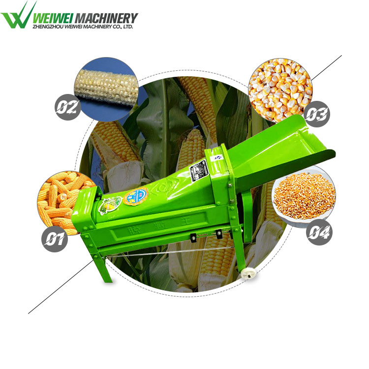Weiwei shellers thresher machine price