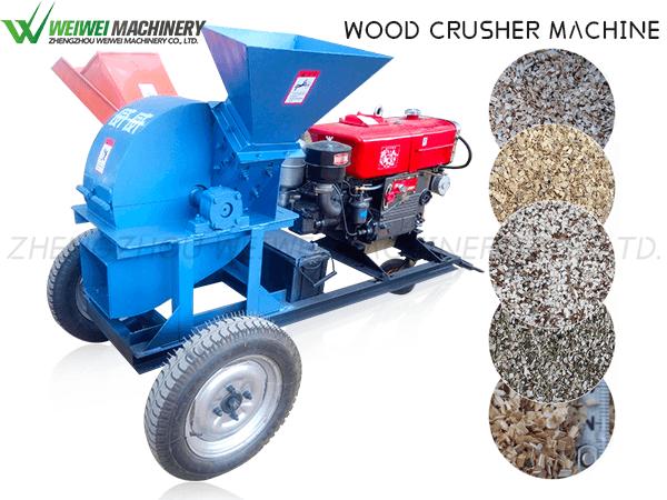 Weiwei MFJ 420 Wood Hammer Mill Machine