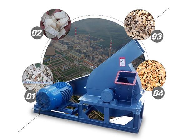 Weiwei Wood chipper machine
