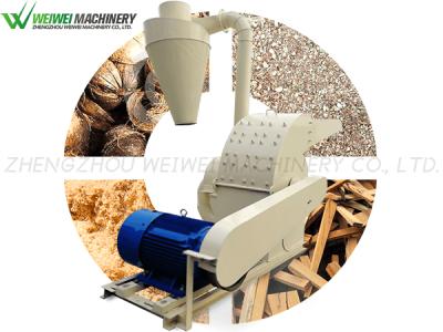 Weiwei wood hammer sawdust machinery forestry wood crusher