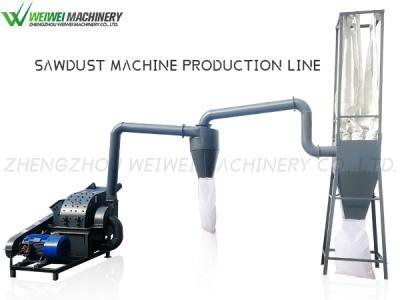 Weiwei sawdust production line multifunctional wood grinder sawmill