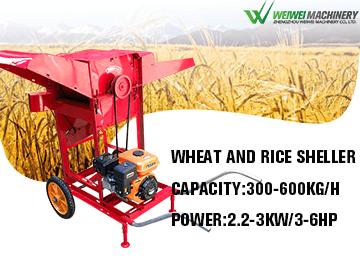 Weiwei whear and rice bean sheller diesel gasoline engine5T-50