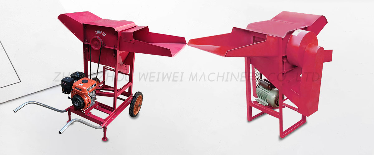 wheat and rice sheller