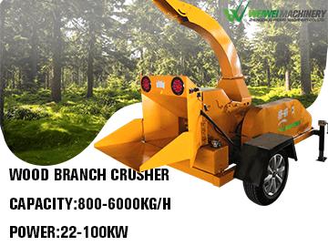 Weiwei wood branch crusher machine