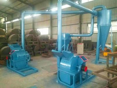 Sawdust machine production line for Malaysian customers