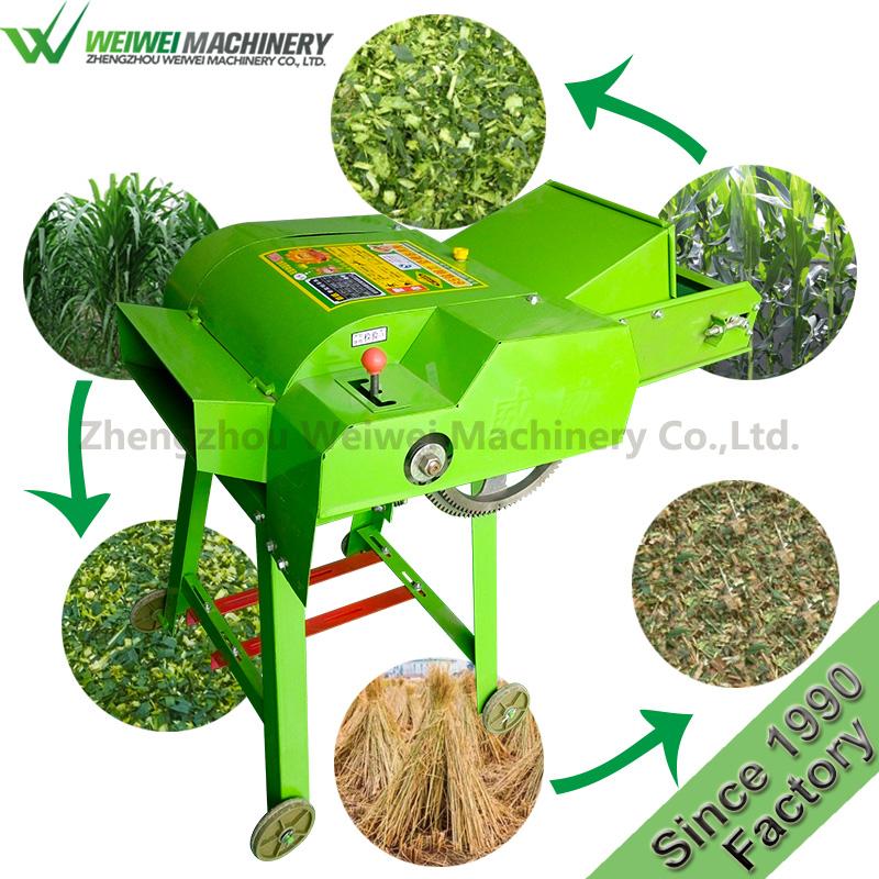 9ZP-0.4C Weiwei feed straw cutting machine