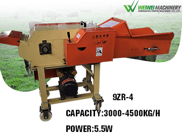 9ZR-4 best selling quality chaff cutter for napier grass choppe