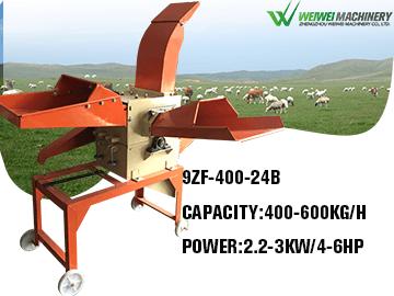 Weiwei 9ZF400-24B Multifunction Feed Crusher Hammer Mill Powder Making Machine