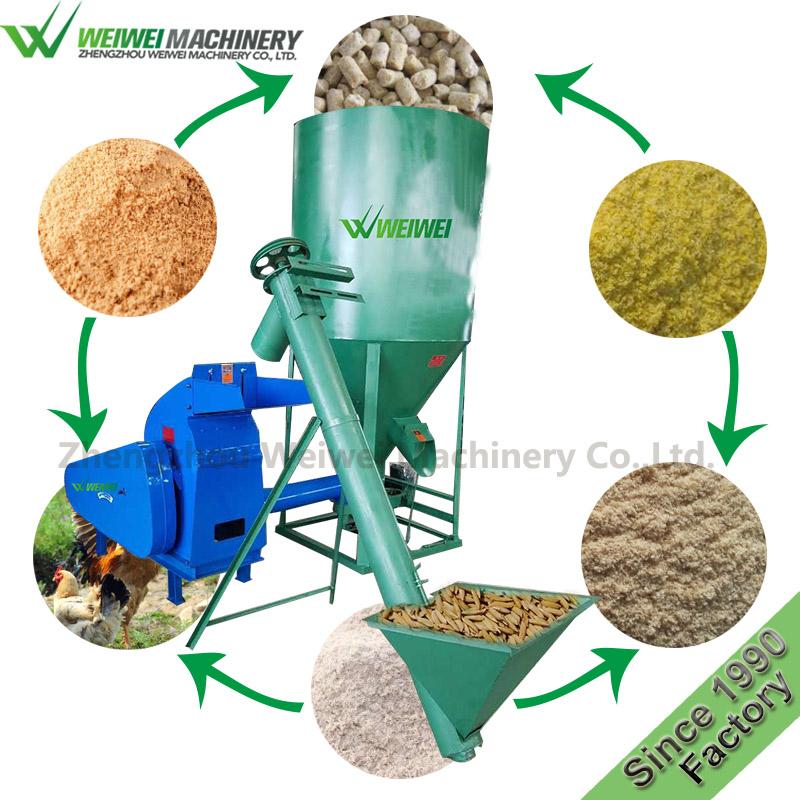 9HLP-500 weiwei feed mixer powder mixing machine